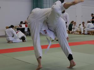 Uchi Mata at the JFAUK National Championships