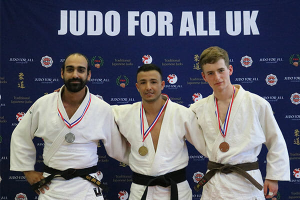 Medalists at the JFAUK London Open 2018
