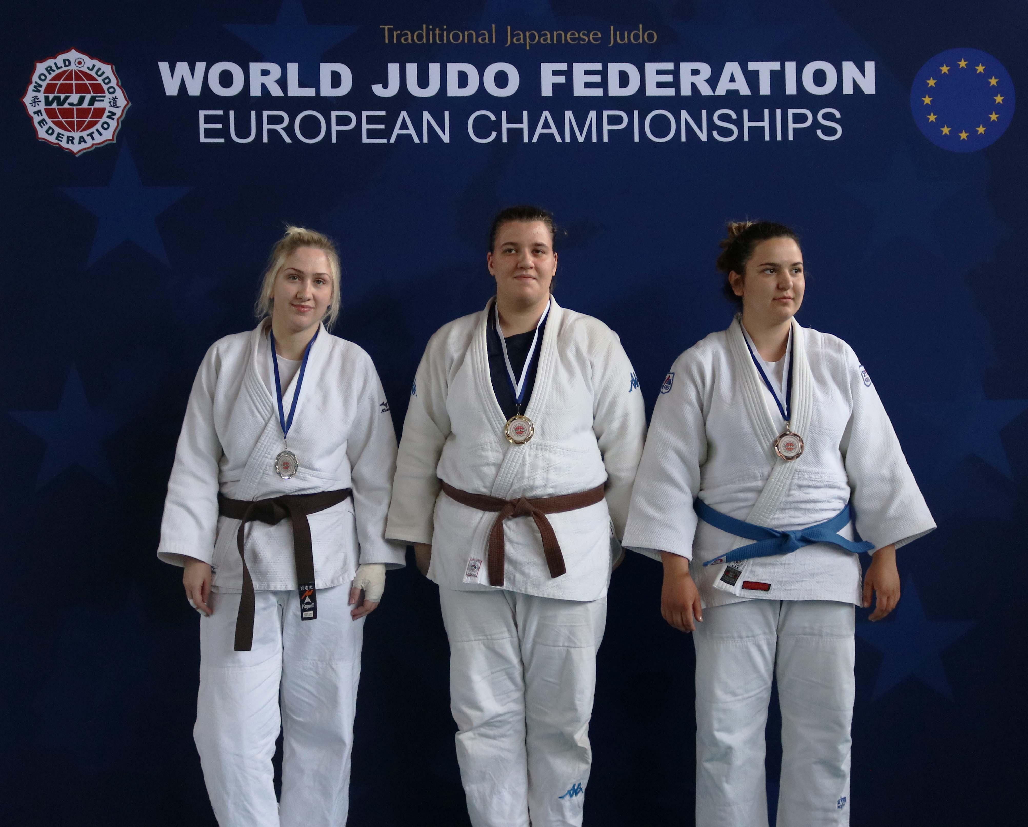 Hannah Chesham wins Silver at the 2018 WJF European Championships