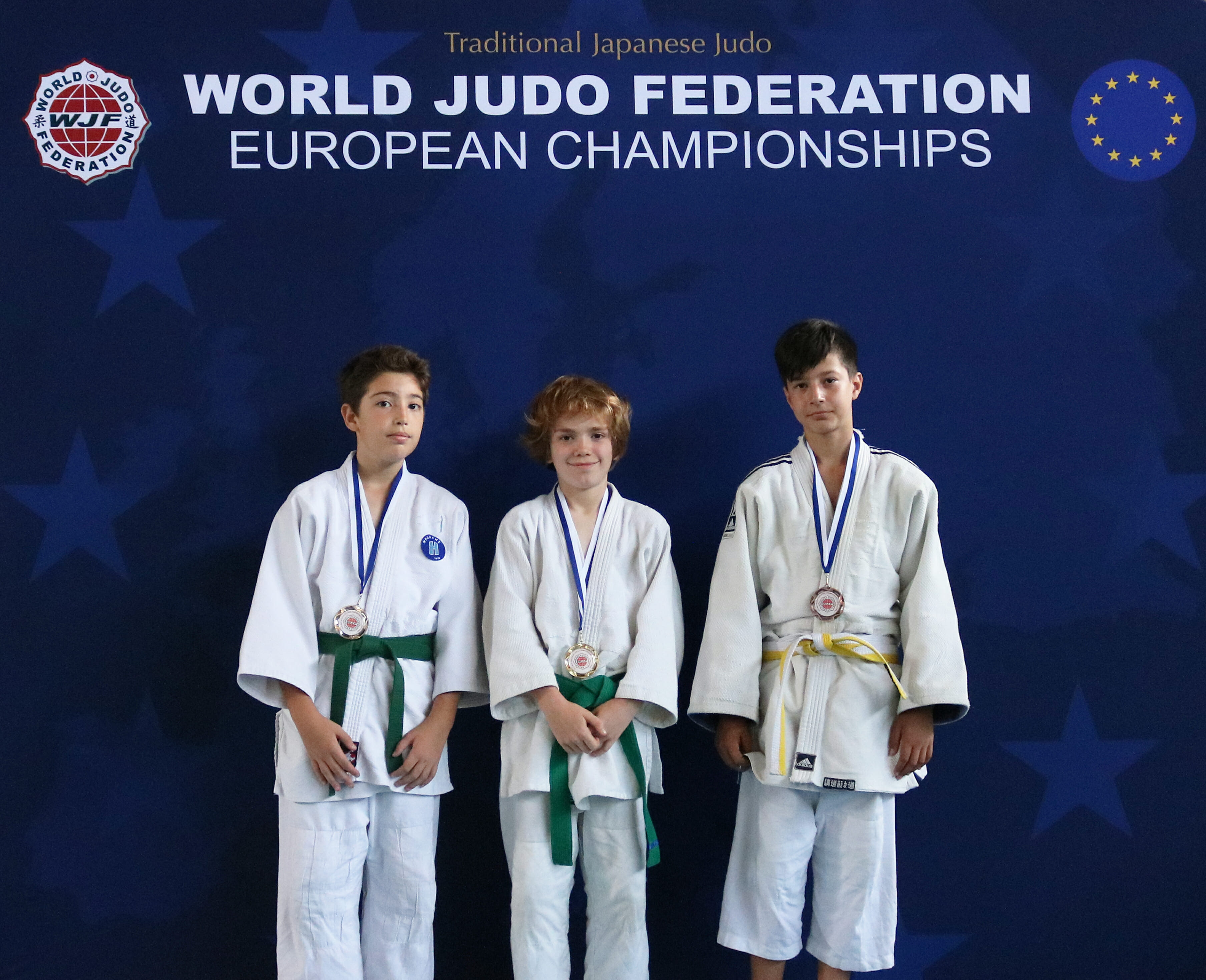 Sebastian wins Gold at the 2018 WJF European Championships