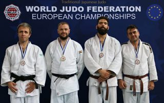 Ross Elliot takes gold in the 2018 WJF European Championships