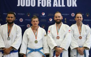 JFAUK National Championships 2018 Blue Belt Podium