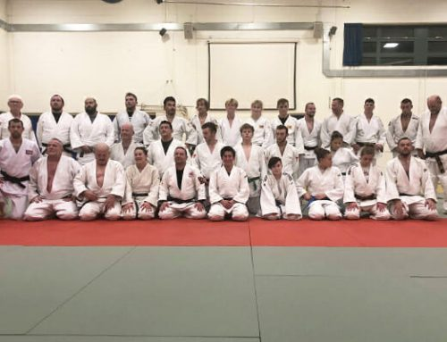 Charity session at Club Judoka