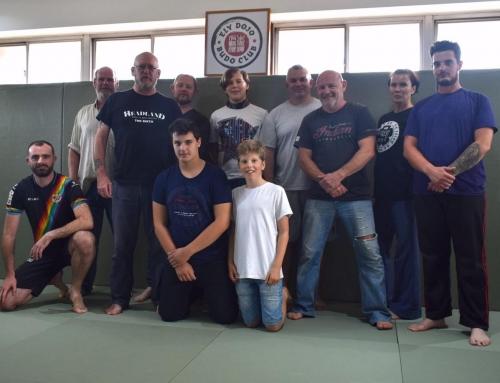 Dave Hammond runs 'Judo Real Time Application' Course